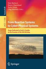 From Reactive Systems to Cyber-Physical Systems: Essays Dedicated to Scott A. Smolka on the Occasion of His 65th Birthday