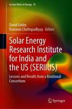 Solar Energy Research Institute for India and the United States (SERIIUS): Lessons and Results from a Binational Consortium