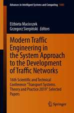 """Modern Traffic Engineering in the System Approach to the Development of Traffic Networks: 16th Scientific and Technical Conference """"Transport Systems. Theory and Practice 2019"""" Selected Papers"""