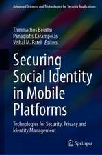 Securing Social Identity in Mobile Platforms