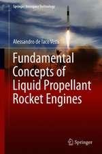 Fundamental Concepts of Liquid-Propellant Rocket Engines