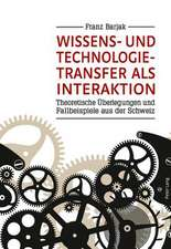 Wissens- Und Technologietransfer ALS Interaktion