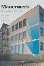 Mauerwerk: Bemessung und Konstruktion