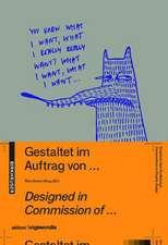 Gestaltet im Auftrag von ... / Designed in commission of ...: Gespräche über Graphik Design / Conversations on Graphic Design
