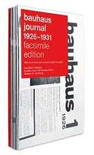 bauhaus journal 1926 - 1931