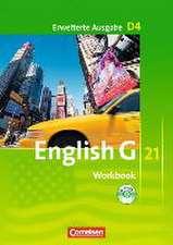 English G 21. Erweiterte Ausgabe D 4. Workbook mit Audios online