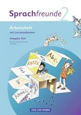 Sprachfreunde 2. Schuljahr. Arbeitsheft. Ausgabe Süd (Sachsen, Sachsen-Anhalt, Thüringen)