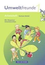 Umweltfreunde 1. Schuljahr. Arbeitsheft. Sachsen-Anhalt.