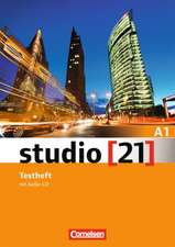 studio [21] Grundstufe A1: Gesamtband. Testheft mit Audio-CD