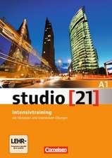 studio [21] Grundstufe A1: Gesamtband. Intensivtraining mit Audio-CD und Lerner-DVD-ROM