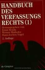 Handbuch des Verfassungsrechts der Bundesrepublik Deutschland: Studienausgabe