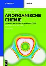 Anorganische Chemie: Prinzipien von Struktur und Reaktivität
