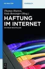 Haftung im Internet: Die neue Rechtslage