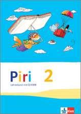 Piri Sprach-Lese-Buch/Lehrerb. m. CDR 2. Sj.