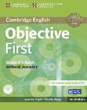 Objective First. Student's Book without answers with CD-ROM