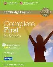 Complete First for Schools. Student's Book with answers with CD-ROM