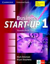 Business Start-Up 1 Student's Book Klett Edition