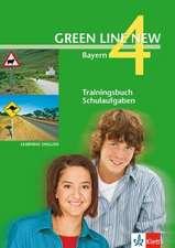 Green Line New 4. Trainingsbuch Schulaufgaben, Heft mit Audio-CD. Bayern