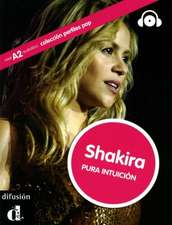 Shakira. Carte și CD audio