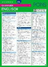 PONS Grammatik auf einen Blick Englisch