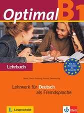 Müller, M: Optimal B1 - Lehrbuch B1