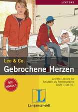 Gebrochene Herzen (Stufe 1) - Buch mit Audio-CD: A1 / A2