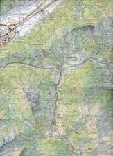 Swisstopo 1 : 50 000 Mont Blanc Grand Combin