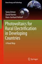 Photovoltaics for Rural Electrification in Developing Countries: A Road Map