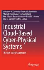 Industrial Cloud-Based Cyber-Physical Systems: The IMC-AESOP Approach
