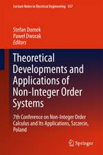 Theoretical Developments and Applications of Non-Integer Order Systems: 7th Conference on Non-Integer Order Calculus and Its Applications, Szczecin, Poland