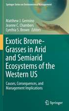 Exotic Brome-Grasses in Arid and Semiarid Ecosystems of the Western US: Causes, Consequences, and Management Implications