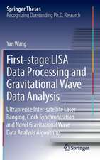 First-stage LISA Data Processing and Gravitational Wave Data Analysis: Ultraprecise Inter-satellite Laser Ranging, Clock Synchronization and Novel Gravitational Wave Data Analysis Algorithms