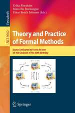Theory and Practice of Formal Methods: Essays Dedicated to Frank de Boer on the Occasion of His 60th Birthday