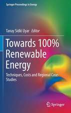 Towards 100% Renewable Energy: Techniques, Costs and Regional Case-Studies