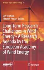 Long-term Research Challenges in Wind Energy - A Research Agenda by the European Academy of Wind Energy