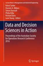 Data and Decision Sciences in Action