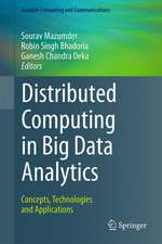Distributed Computing in Big Data Analytics