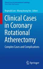 Clinical Cases in Coronary Rotational Atherectomy: Complex Cases and Complications