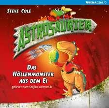Astrosaurier 02. Das Höllenmonster aus dem Ei