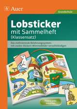 Lobsticker mit Sammelheft (Klassensatz, 20 Hefte)