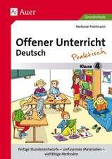 Offener Unterricht Deutsch - praktisch Klasse 4