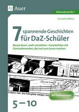 7 spannende Geschichten für DaZ-Schüler 5-10
