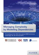 Managing Complexity by Modelling Dependencies
