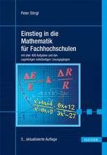 Einstieg in die Mathematik für Fachhochschulen