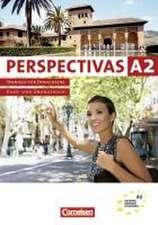 Perspectivas 2. Kurs-, Arbeits-, Vokabeltaschenbuch inkl. Kursraum-CDs