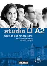 studio d - Grundstufe A2: Gesamtband - Unterrichtsvorbereitung (Print) mit Demo-CD-ROM