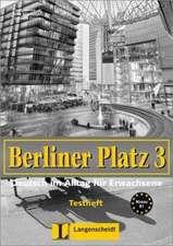 Berliner Platz 3. Testheft mit CD