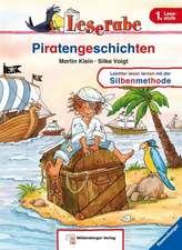 Leserabe mit Mildenberger. Leichter lesen lernen mit der Silbenmethode: Piratengeschichten