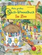 Mein großes Such-Wimmelbuch - Im Zoo