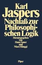 Nachlaß zur Philosophischen Logik